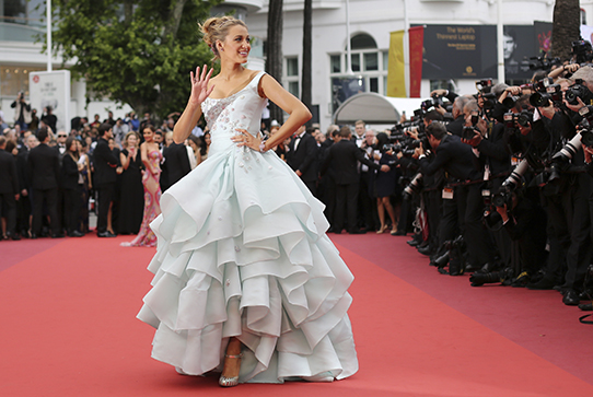 Blake Lively on the red carpet